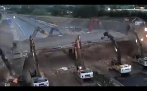 Rozbiórka mostu w 15 godzin