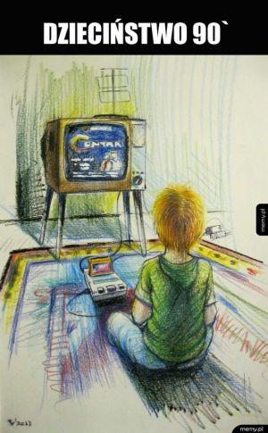 Rysunek z dzieciństwa