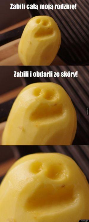 Rozżalony Pan Ziemniak