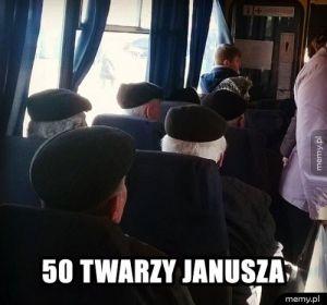 50 twarzy Janusza