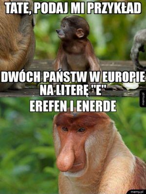 Kraje na literę E