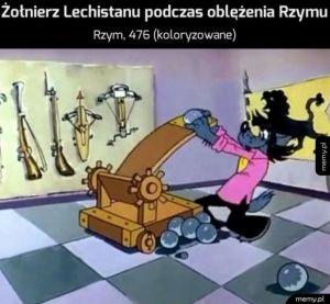 Lechici oblegają Rzym