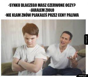 Paliwa Coraz Drozsze w Polsce