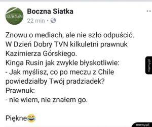 Prawnuk Kazimierza Górskiego