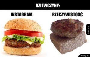 Instagram vs rzeczywistość