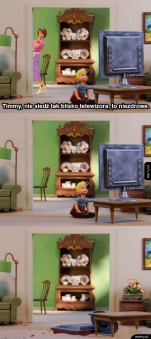Timmy nie słuchał