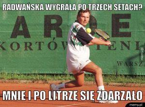 Radwańska wygrała po trzech setach?