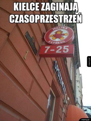 Witamy w Kielcach