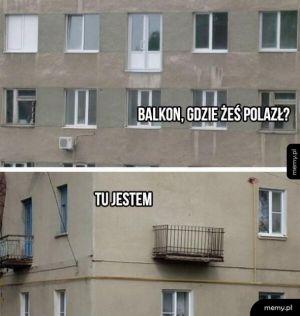 Co ten balkon