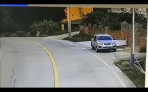 Takie tam na drodze