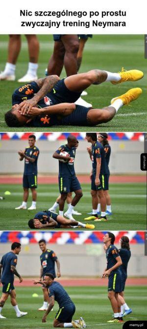 trening Neymara