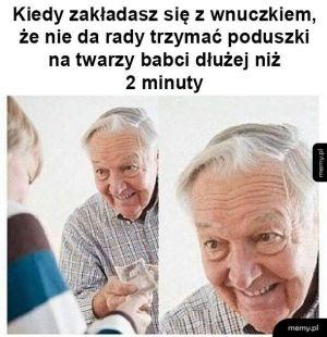 Dziadek się zakłada