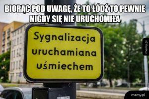Sygnalizacja w Łodzi
