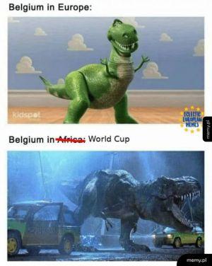 Belgia na Mundialu