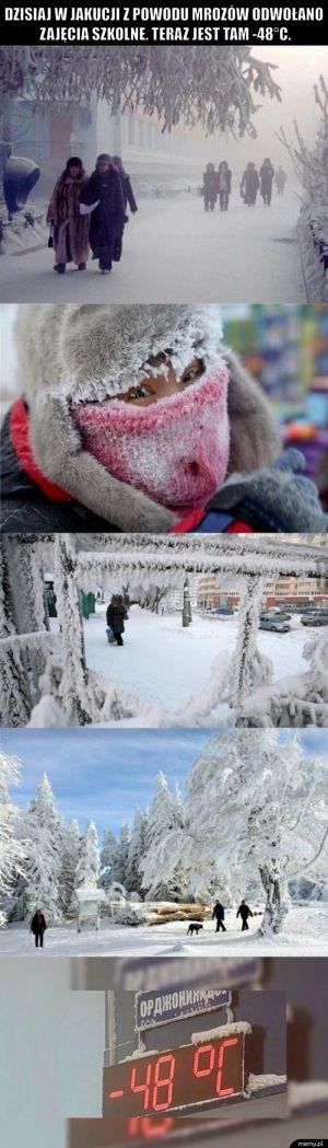 A Ty narzekasz, że jest zimno.