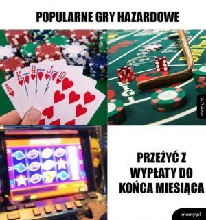 Popularne gry hazardowe