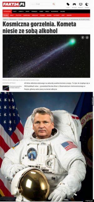 Kosmiczna gorzelnia