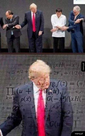Trump nie ogarnia