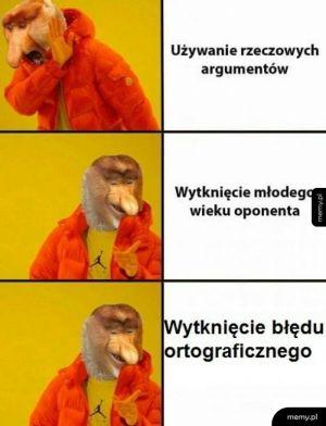 Argumenty.