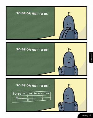 Być albo nie być