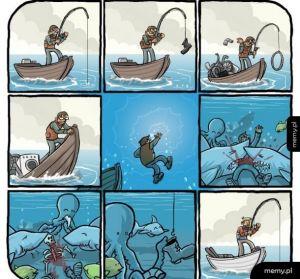 Cykl życia wędkarza