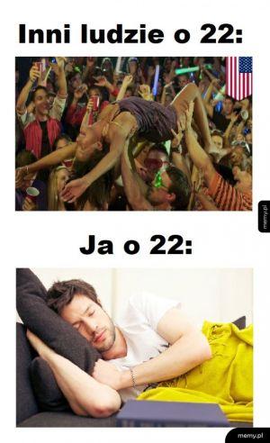 Szalone życie o 22