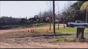 Pociąg vs traktor