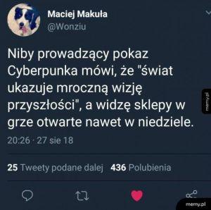 Mroczny Cyberpunk