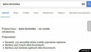 Ładna feministka?