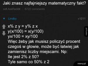 Matematyczny fakt