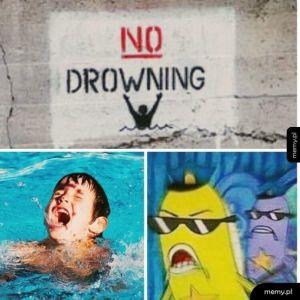 Zakaz pływania