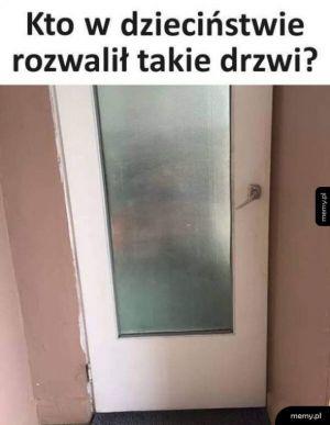 Kiedyś to były drzwi, teraz to nie ma drzwi