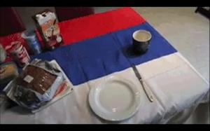 Tradycyjne ruskie śniadanie