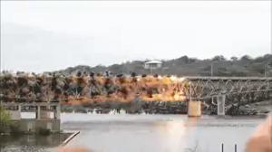 Wysadzanie mostu