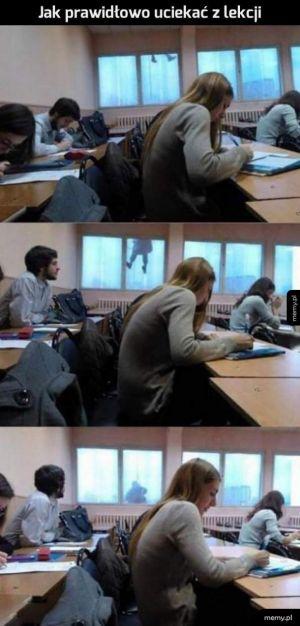 Uciekanie z lekcji