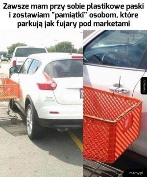 Samozwańczy bohater parkingów