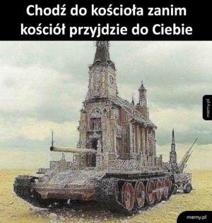 Chodzenie do kościoła