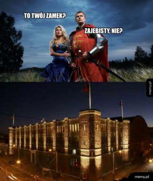 Fajny zamek!