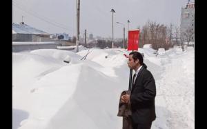 Kiedy starasz się znaleźć samochód po nocnej śnieżycy
