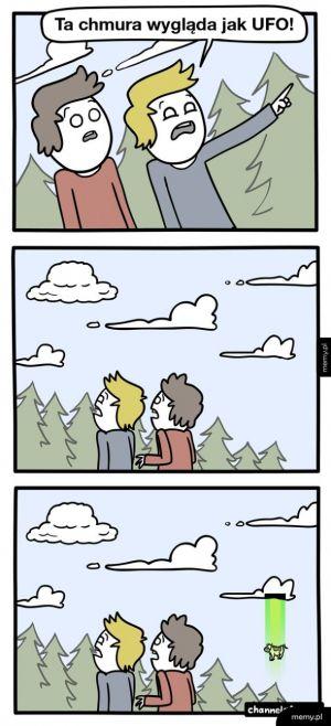 Ufo jednak istnieje
