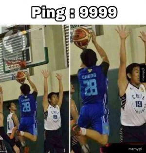 Za duży Ping
