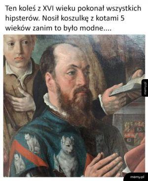 Pierwszy w historii hipster