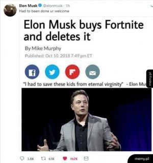 Elon nasz zbawca