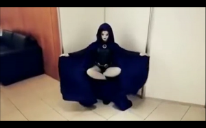 Niesamowity cosplay - Raven