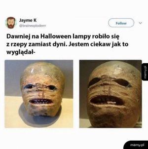 Halloweenowa lampa