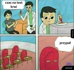 Test krwi