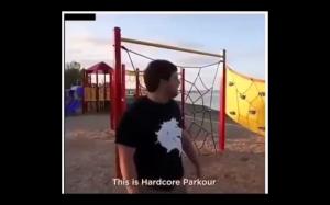 Instruktor parkour