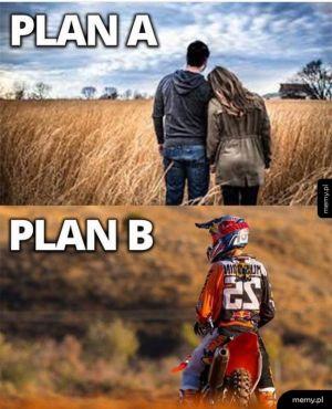 Zawsze trzeba mieć jakiś plan awaryjny