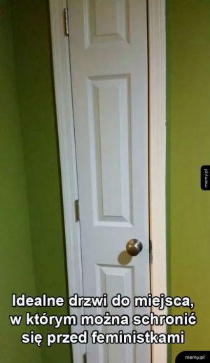 Antyfeministyczne drzwi