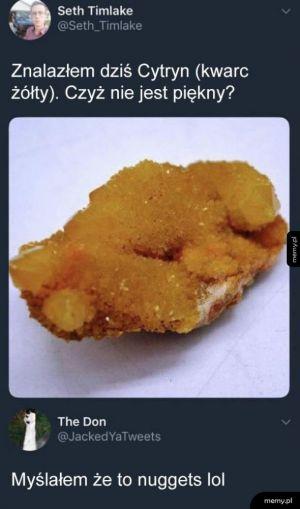 Żółty kwarc